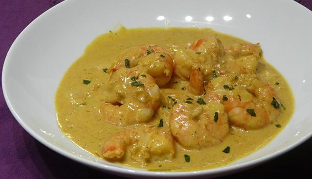 Curry de crevettes à la vietnamienne