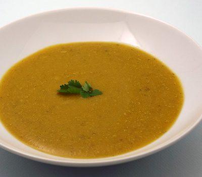 Soupe de carottes cumin coriandre