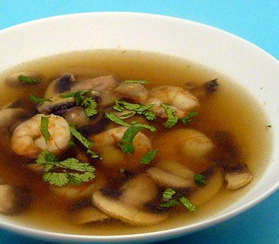 Soupe Tom Yam Kung