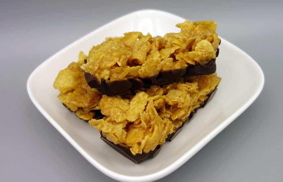 Barres corn flakes chocolat