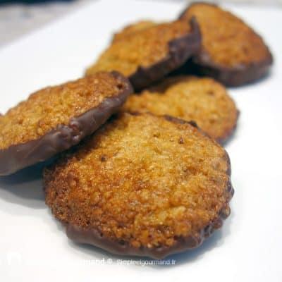 Biscuits suédois avoine chocolat