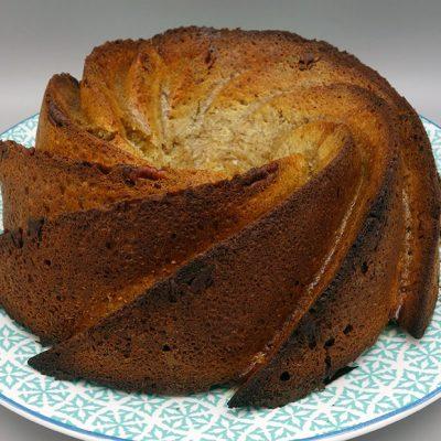 Bundt cake pécan érable
