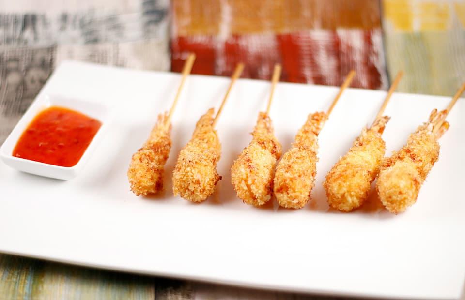 Crevettes panées panko