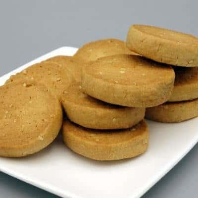 Biscuits croquants sésame épeautre