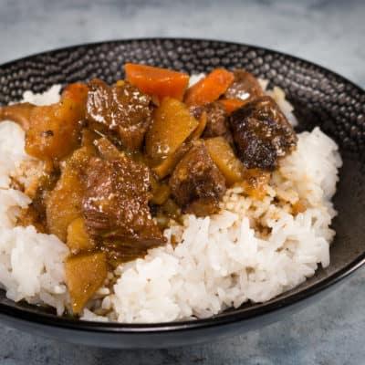 Curry japonais de boeuf