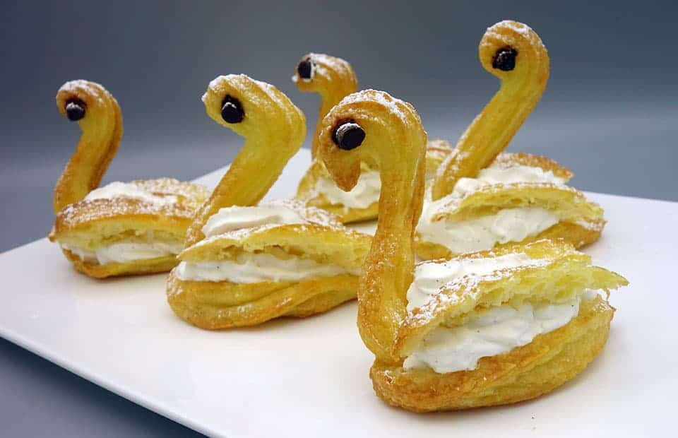 Cygnes à la chantilly au mascarpone