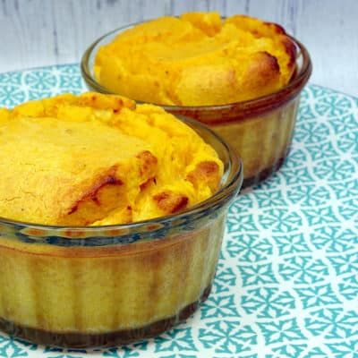 Flan butternut pois chiches