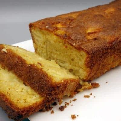 Gâteau pommes coco
