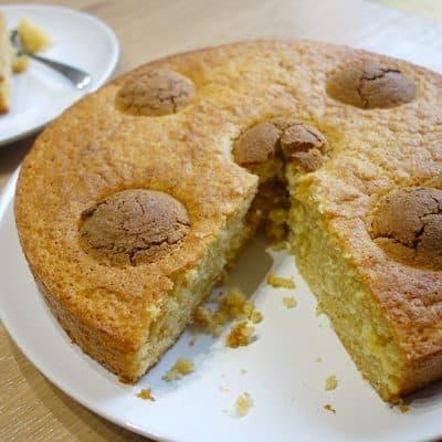 Gâteau aux amarettis