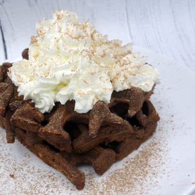 Gaufre brownies