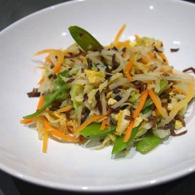 Légumes sautés à la sauce d'huîtres