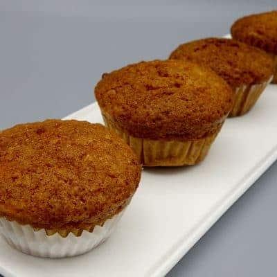 Muffins pommes avoine