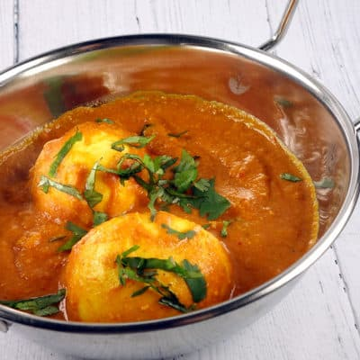 Oeuf curry