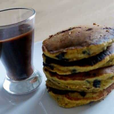 Pancakes potimarron chocolat