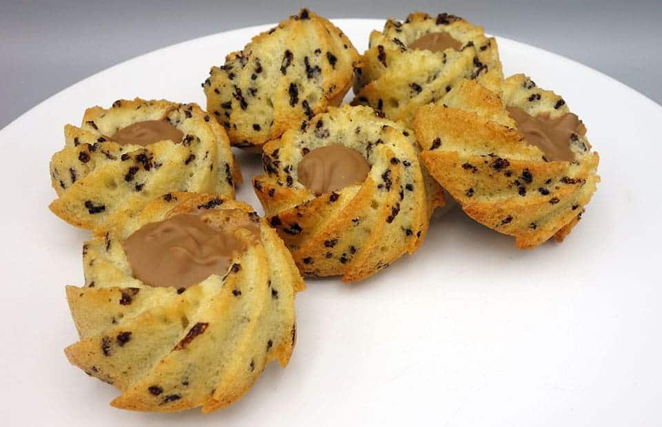 Gâteaux tigrés pralinoise