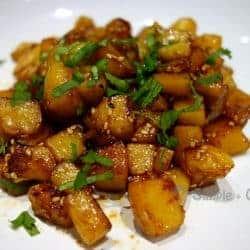 Pommes de terre sautées à la coréenne
