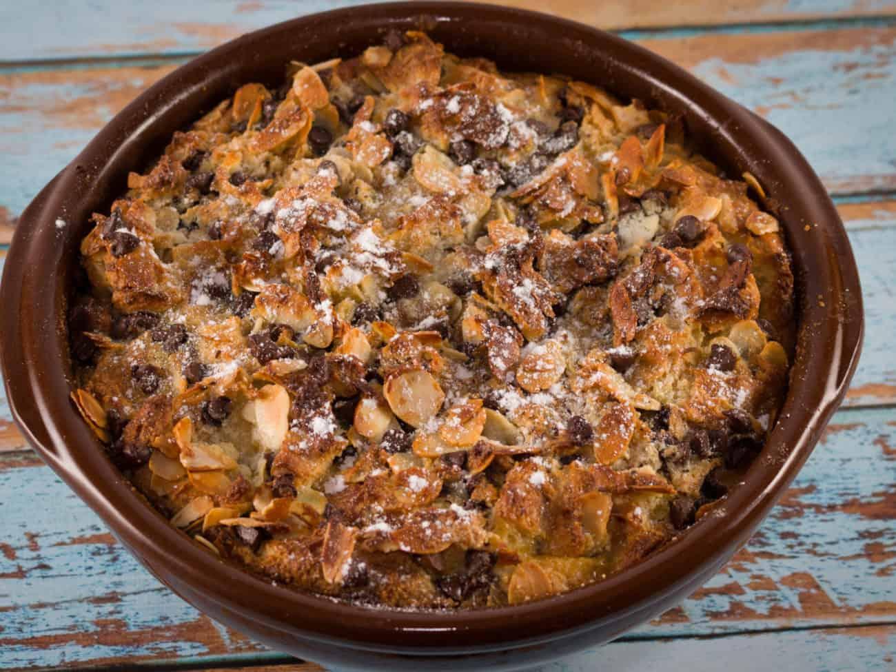 Pudding croissants amandes