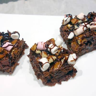 Rocky road cake