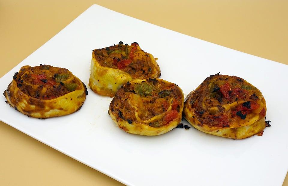 Roulé thon poivrons